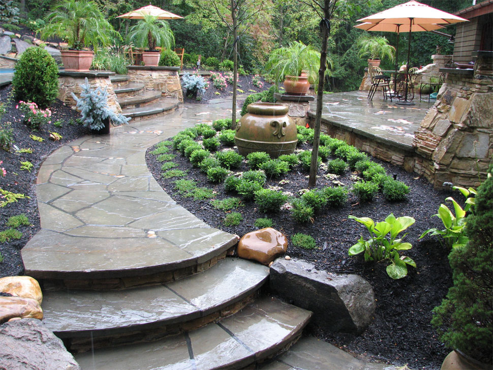 Belle terre transformations for Land design landscaping