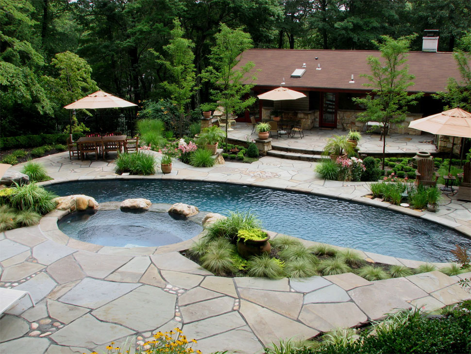 Landscaping Around Swimming Pools